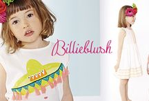 BILLIEBLUSH SS16 / The Billieblush collection creates clothes to modern day princesses from the age of 12 months to 12 years. With a luscious colour palette, funky graphics, and glitter, lace and frill detailing, to create a collection befitting of sassy and stylish little girls.