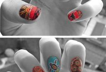 my nail art 10 blank canvases