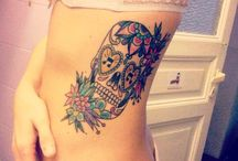 Sugar Skull Tattoo Designs - Mexican Day Of The Dead Tattoo