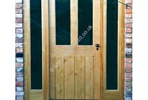 External Front Doors with Sidelights