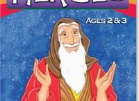 Heroes of the BIble - Activities, Crafts, and Lessons
