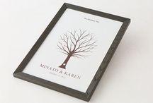 ウェディングツリー basic line [ wedding tree / guest book ]