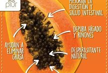 la papaya y sus semillas