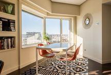 Comedor inspirador / Mesas, sillas, alfombras todo lo necesario para hacer del comedor una estancia confortable e inspiradora.