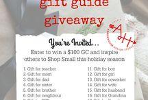 My Shop Small Gift Guide | Holiday 2015 / p r e s e n t s / by Tami Knepper