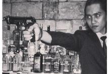 Passionate Indonesian bar man