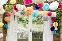 Party decoration / Beautiful decoration that is appropriate for a beautiful party