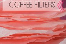 coffee filter projects