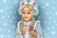 Иллюстрации на новый год