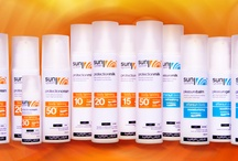 Sunsystem / How to care about your hair and body in summer season. Great solutions from Napura, suggested by Nature.  ---#nature#hair#sun#holiday#pool#shampoo#oil#Italy#bikini#beach#hairdo#tanning#protection#gift#girlfriend#