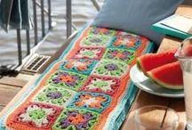 Crochet Decoración / Objetos para el hogar tejidos en crochet