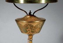 Art Nouveau Lampes