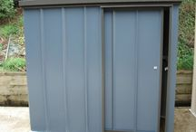 Colour Steel Sheds / All sorts of colour steel sheds in all sorts of colours