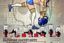 Styrketrening øvelser