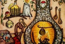 omalovánky: čarovné lahodnosti