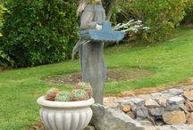 Garden ornaments / Statues, sculptures, birdbaths and other delightful garden accessories.