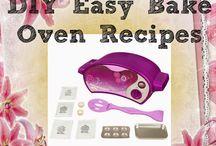 Easy bake / Recipes for easy bake diy