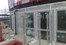 Kingston Riverside Project / Protectorglaze Temporary Glass Protection For The Construction Industry