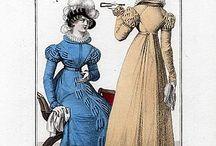 1821 Nouveau Journal des Dames / Vorläufer des Petit Courrier des Dames 1822-1868