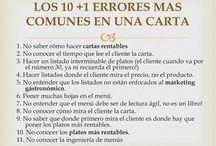 PILAR 4 - CARTAS / DISEÑO DE CARTAS - CRITERIOS PARA ARMAR UNA CARTA - PRECIOS EN LAS CARTAS - CARTAS COMPETITIVAS
