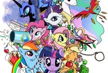 My Little Addicti- *cough* -Pony! / Tons and TONS of MLP awesome. B) / by The H2O (L. B.)