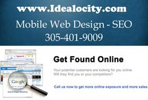 SEO / Idealocity does White Hat SEO. We not only help you drive traffic to your website but we also help you in converting that traffic into sales leads.