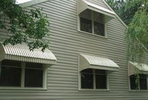 Aluminum awnings / Reduce Direct sunlight by 70% with aluminum awnings by D&K Home Products!