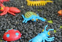 Sensory Play Ideas for Kids / Sensory Play ideas, DIY Sensory toys and activities for kids, Creative sensory play fun / by Kiddie Academy
