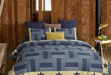 Budget Friendly 3 Piece Country Primitive Quilt Ensembles / New budget friendly line of 3 piece country primitive style patchwork quilt sets available at www.bethscountryprimitivehomedecor.com