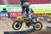 2015 Las Vegas Supercross / Motocross Motorcycle Racing