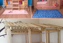 Childrens pallet furniture