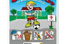 Schulhofschilder / Schilder zur Kennzeichnung von Schulhöfen, Schulhofspielplätzen und schulischen Anlagen.