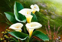живопись: цветы