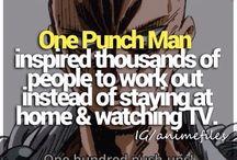 One punch man ヽ(≧Д≦)ノ