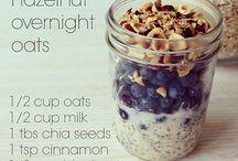 overnight oat masonjars