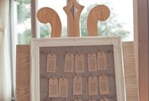 Wedding Stationary | Tableplans/Placecards/Menus