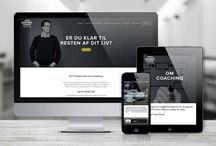 Design: website, hjemmeside, webdesign, squarespace, wordpress