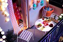 Terrazas y exterior / Terrace and outdoor