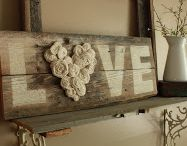 Wooden antique Signs