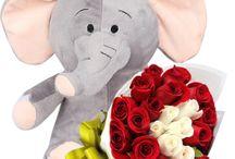 Flores + Peluches ENVIAFLORES.COM