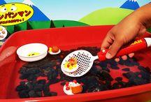 アンパンマン アニメ❤おもちゃ 水遊び!すくって楽しいアンパンマンおもちゃAnpanman toys