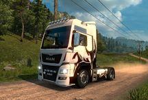 Euro Truck Simulator 2 - Moje fotky / Euro Truck Simulator 2