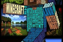 Everything Minecraft! / All things Minecraft for kids! Since it's all just blocks, it's probably one of the easier things to use when decorating a kid's room.