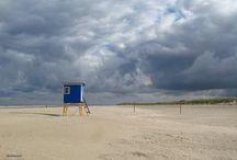 Wolkenlust - Langeoog / Ich liebe den Himmel mit den Wolken, den Stimmungen, ... und das Meer und den Strand .... und Langeoog