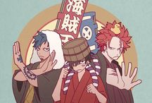 One piece. Trio.