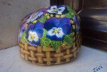 my decoupage / #decoupage #handmade #decoupageboxes #decorarcondecoupage #tejasdecoradas / by El rinconcito de Zivi Zivi