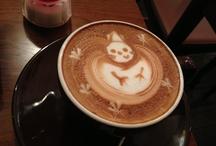 Coffee latte arts