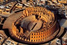 Roman Theaters / The Romans. Concrete. The arch. From Syria to Tunisia, from Britain to Croatia, they gifted to humanity these gorgeous centers of artistic expression and entertainment.