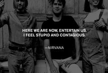 Lyrics/Quotes / Lyrics and/or quotes from my favorite bands & musicians.