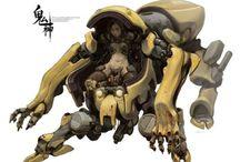 Robot,Cyborg&Mecha